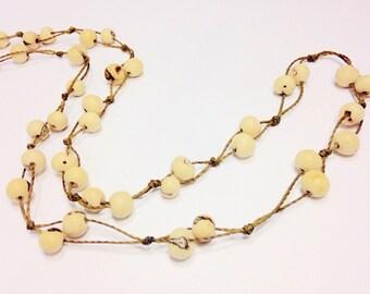 Acai Berry Seeds Necklace