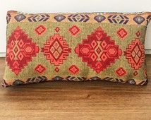 Turkey- Hand-stitched throw pillows- Turkish Upholstery Fabric- Kilim- Handmade