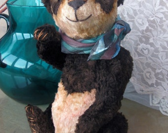 Fabin (ooak author teddy bear, artist teddy bear, teddy bear friends, vintage bear)