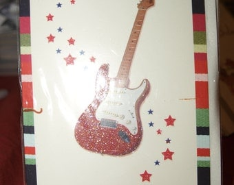 Electric Guitar Card