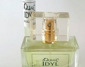 Idyl a violet based with floral notes that range from jasmine to rose and everything in between