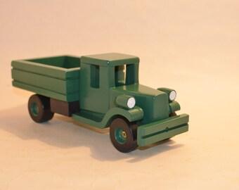 Wooden Toy Car ZIS-5. Model 1933 (USSR)