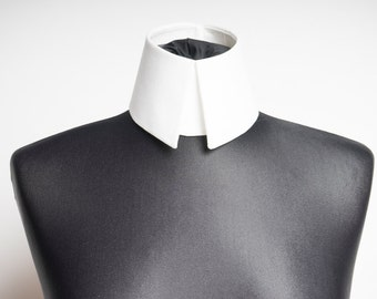 Removable Collar in Haute Couture High Fashion Design