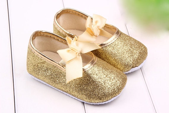 Gold Baby Shoes Baby Girl Shoe baby shoe gold by