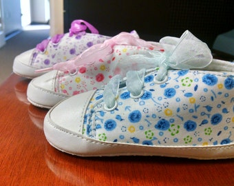 Princess Floral Sneakers Shoes