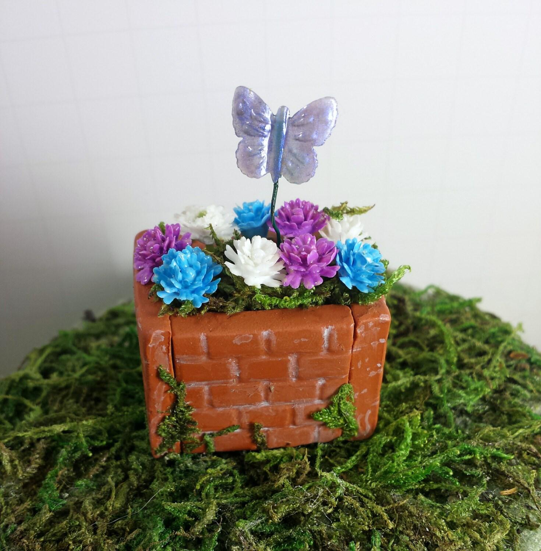Fairy Garden Accessories Miniature Flower Bed