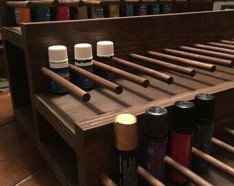 Essential Oil Storage/Retail/Shelf/Rack/Oil Display/Make-up/Aromatherapy/retail furniture/natural/rustic/nail polish