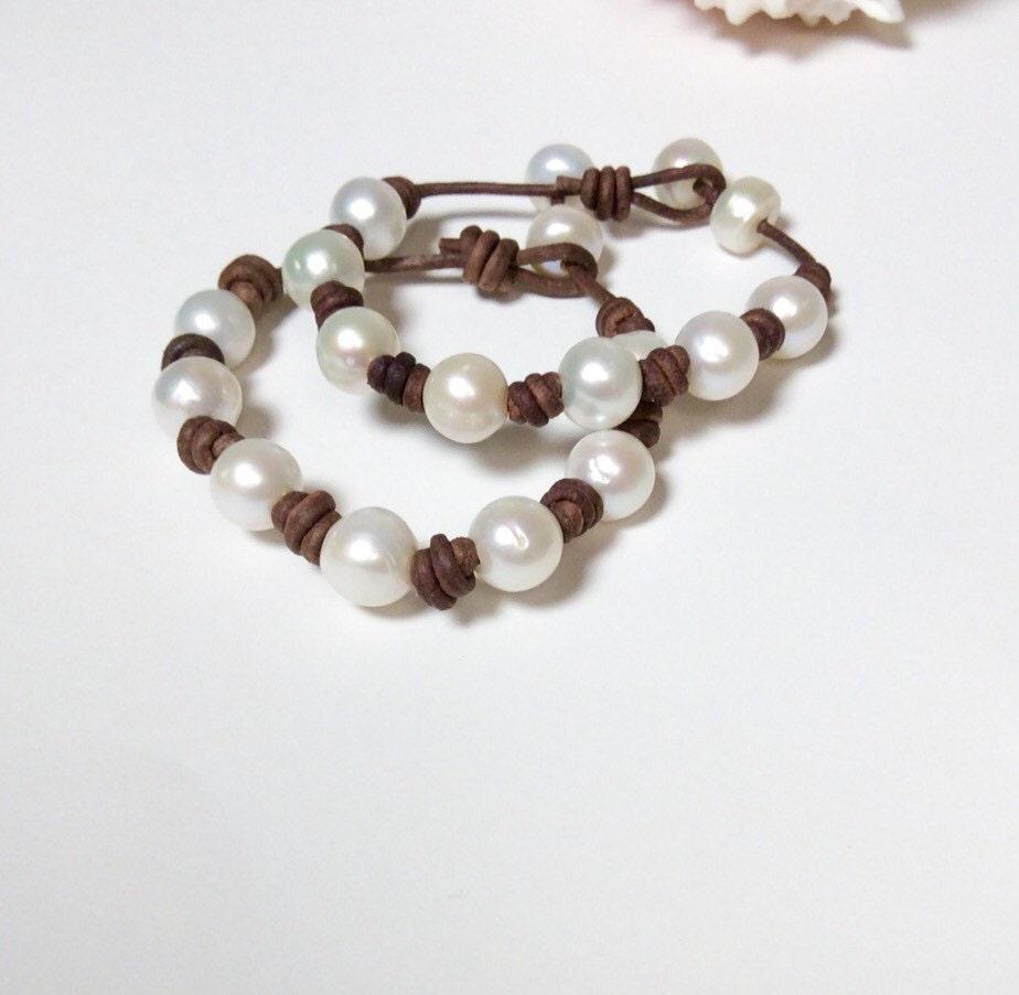 pearl bracelet sale pearl leather bracelet pearl clasp. Black Bedroom Furniture Sets. Home Design Ideas