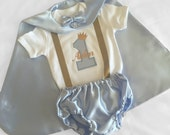 Light Blue Little prince Personalised Baby boy 1st Birthday Outfit...1st Birthday dress up...Cake Smash Outfit...Baby photo shoot outfit...