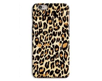 Leopard Print Plastic Snap Case iPhone 6 6 Plus / iPhone 5 5S / iPhone 5C / iPhone 4 4S \ hc-JJ449
