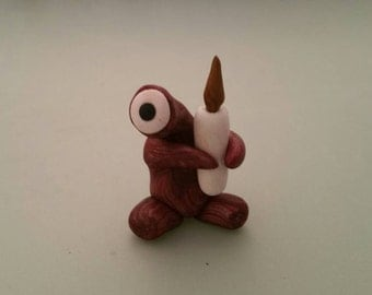 Small monsters. Single edition hand sculpted polymer clay!