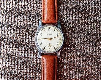 Pobeda Watch Soviet Mechanical Watches Pobeda Mens Watch Vintage Watches Pobeda Made In USSR 60's