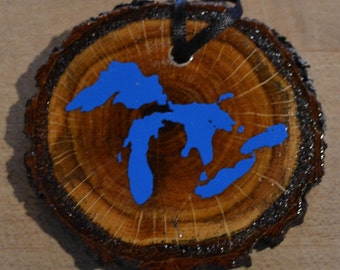 Great Lakes Ornament set of 2