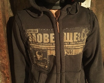 Post Apocalyptic Fallout Mad Max Hoodie Jacket