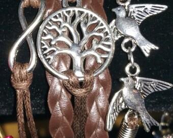 Friendship Charm Bracelet Tree of Life