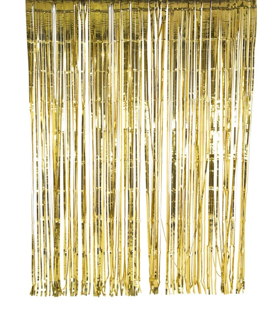 Gold Foil Curtain Sparkly backdrop by mapetitefete on Etsy