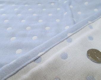 Soft baby blanket, muslin blanket, polka dots blanket, baby blanket, gauze blanket, stroller blanket, under 30