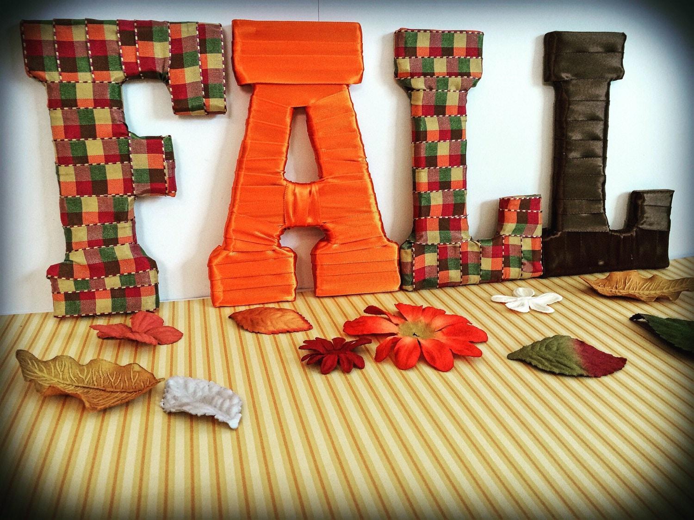 Fall Letters Fall Home Decor Fall Sale Seasonal Decor