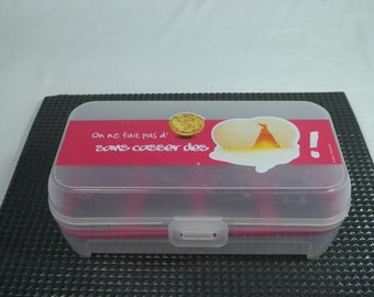 An egg box design by CMP | Funny eggs box french eggs box