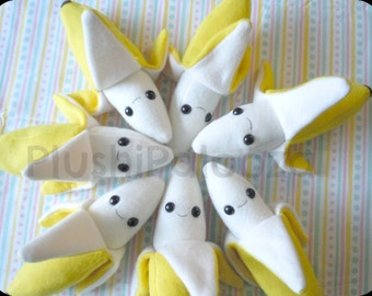 Banana Plushie | Stuffed Toy | Gift for Her | Gift for Him | Gift for the Kids |