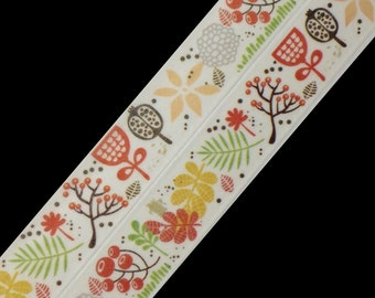Autumn Leaves and Branches, Washi Tape