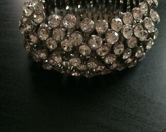 Sparking thick bracelet