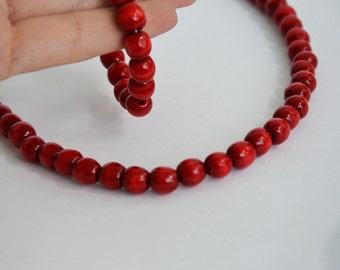 Ukrainian necklace  Beaded Ukrainian Wooden necklace  Ukrainian Beaded   . necklace Ukrainian . necklace Gift