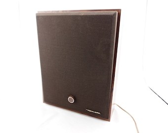 Vintage Realistic Wall Hanging Speaker with Volume Control. WAS_24.95