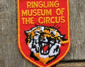 Ringling Museum of the Circus Baraboo, Wisconsin Vintage Souvenir Travel Patch by Voyager