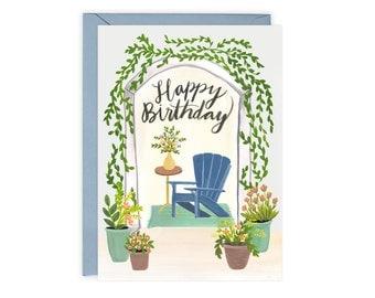 Garden Birthday Card (The Eunice)