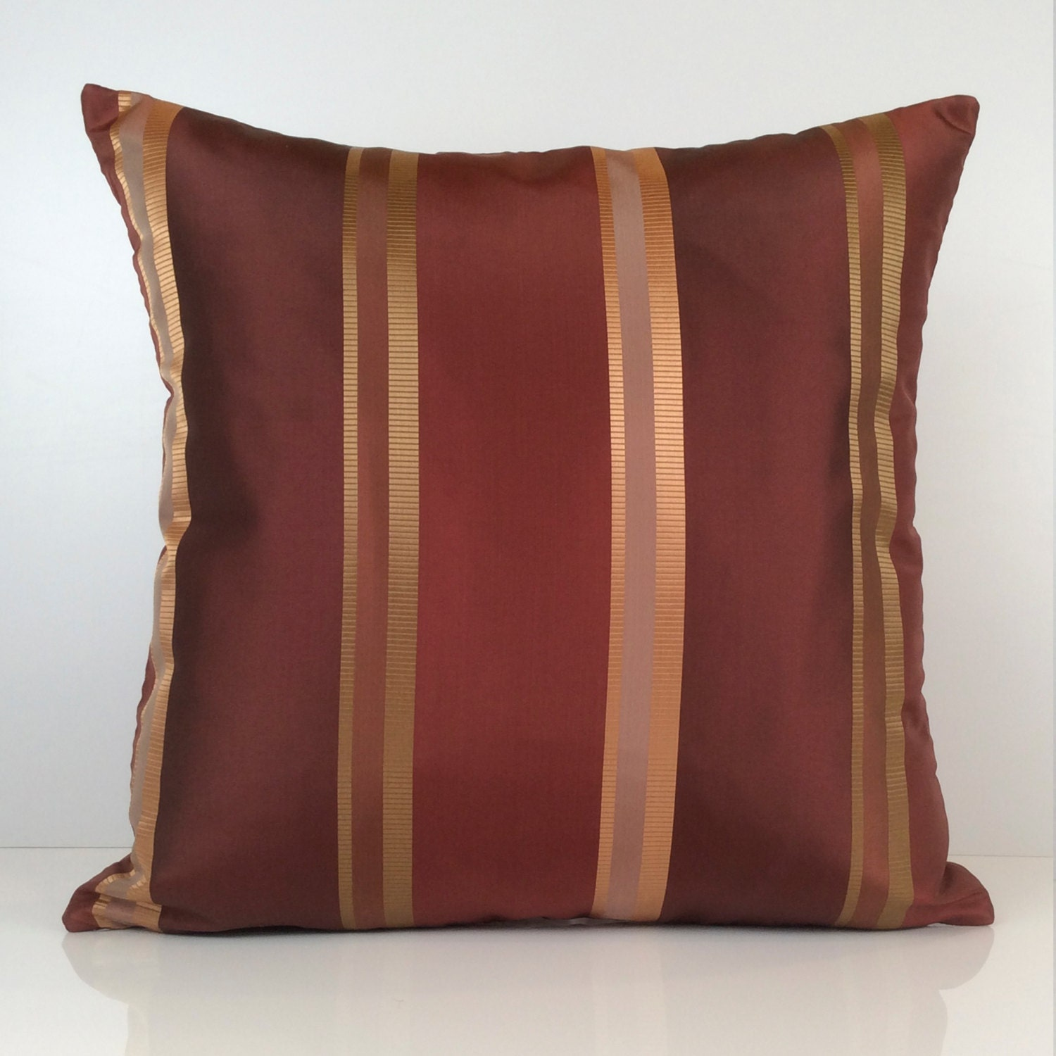 Burgundy Colored Throw Pillows : Burgundy Copper Pillow Throw Pillow Cover Decorative Pillow