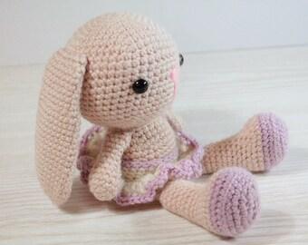 Amigurumi Bunny Knitting Pattern : PATTERN : Bunny-Rabbit Amigurumi bunny pattern by Anatillea