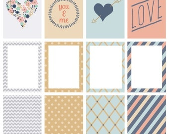 Emma Valentine Day Project Life Cards