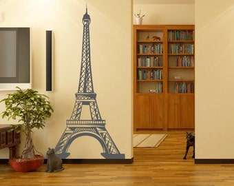 Wall decal Tour d'Eifel, Tour d'Eifel wall sticker, Paris wall sticker, France wall sticker, Vinyl wall sticker, Wall stencil, Wall decor