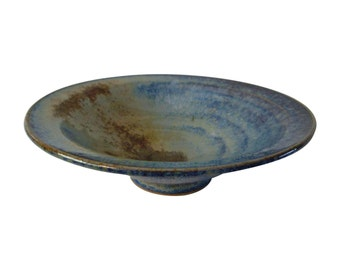 Studio Art Blue Pottery Bowl