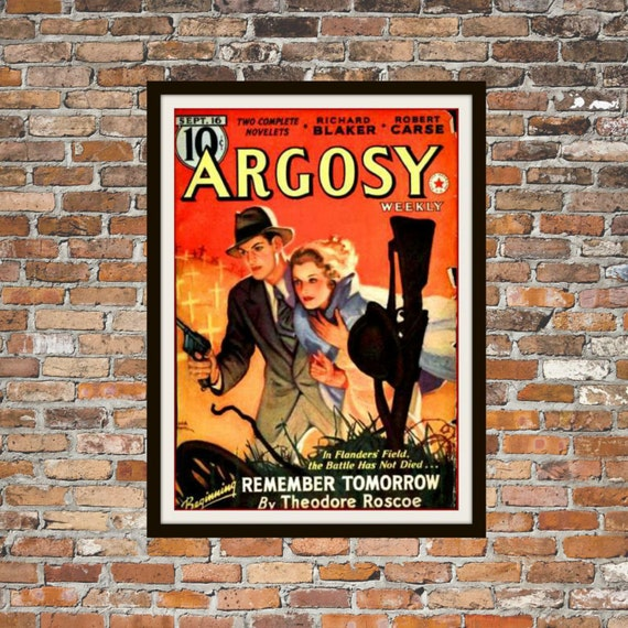 Vintage Pulp Argosy Weekly Volume 274 Number 4 July 17 1937 Donald Barr Chidsey