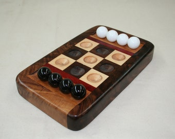 Table Top Tic Tac Toe Christmas gift wood toys games