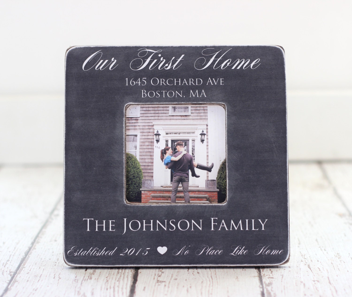 First Home Housewarming Gift Personalized Picture Frame