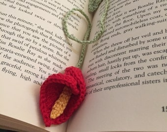 Lily bookmark