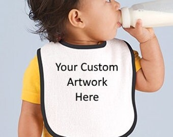 Custom Design Your Baby's Bib.