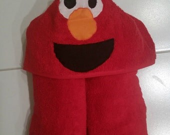 Elmo Hooded Bath Towel