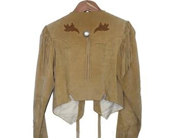Original Pioneer Wear Suede Fringe - Small