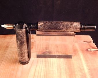 Baron Fountain Pen with Buckeye Burl #FP10151