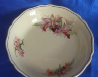 """Royal Doulton Bowl """"Orchid"""" Made in England"""