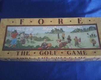 F.O.R.E. The Golf Board Game