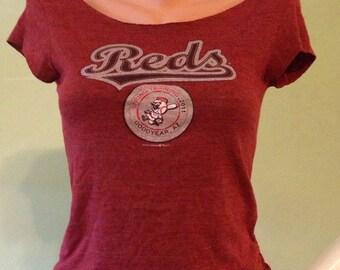 Reds Shredded Shirt