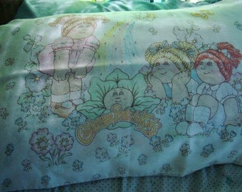 Cabbage Patch Kids 1980s Pillowcase