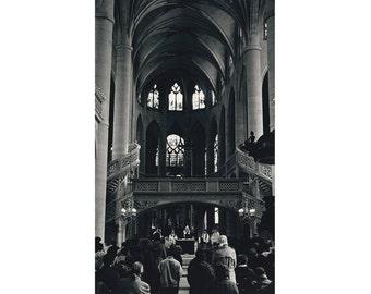 Mass at l'Eglise Ste Etienne du Mont, Paris