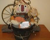 Scarecrow - Fall Decoration - Autumn - Centerpiece