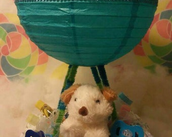 Up in The Klouds© Diaper Cake